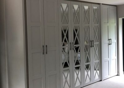 Fitted Wardrobes with Mirrors