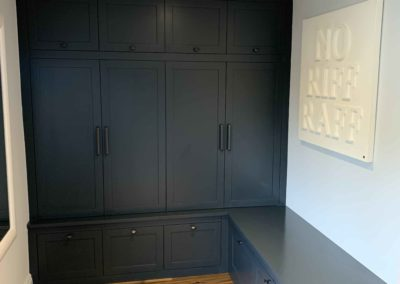 Dark Grey/Blue Boot Room