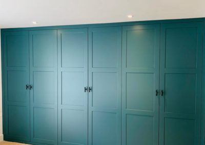 Turquoise Fitted Wardrobes